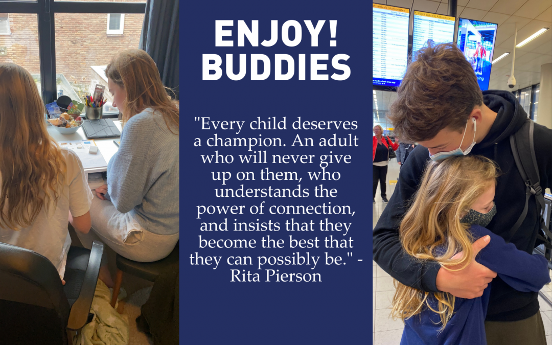 Enjoy! Buddies, every child deserves a champion